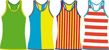 Tank Tops. Stock Photography
