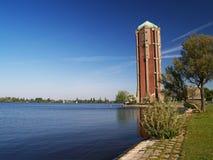 Tank tower. Water reservoir in Aalsmeer, Netherlands Royalty Free Stock Images