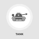 Tank toy vector flat icon Stock Photos