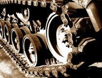 tank track Στοκ Φωτογραφία
