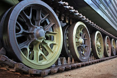 Tank track Royalty Free Stock Image