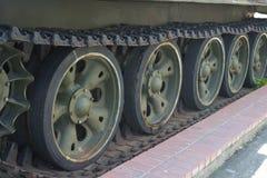 Tank Track Stock Photo