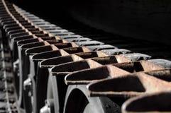 Tank tracks Stock Photo