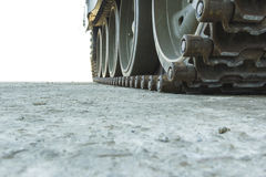 Tank tracks Stock Images