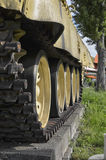 The tank tracks of the T-55 Royalty Free Stock Images