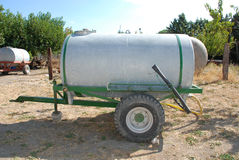 Tank Trailer on Farm Stock Photos