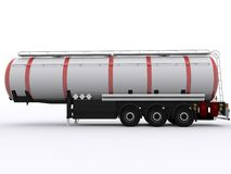 Tank Trailer. On isolated Background royalty free illustration