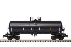 Tank Train Car Stock Image