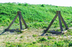 Tank traps Stock Images