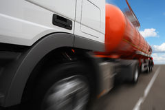 a tank truck Stock Image