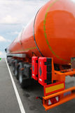 A tank truck. The image of a tank truck Stock Image