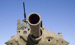 Tank turret gun Royalty Free Stock Photo