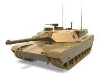 Tank van oorlog royalty-vrije illustratie