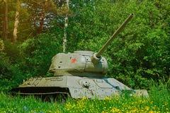 Tank van Wereldoorlog 2 royalty-vrije stock afbeeldingen