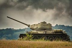Tank van Wereldoorlog 2 stock afbeeldingen