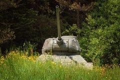 Tank van Wereldoorlog 2 royalty-vrije stock afbeelding