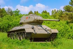 Tank van Wereldoorlog 2 stock fotografie