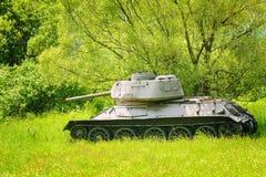 Tank van Wereldoorlog 2 stock afbeelding