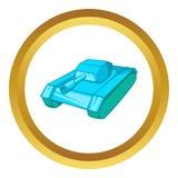 Tank vector icon Royalty Free Stock Photos