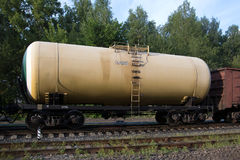 Tank wagon old Royalty Free Stock Images