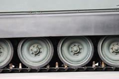 Tank Wheels Stock Photography