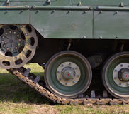 Tank wheels Royalty Free Stock Images
