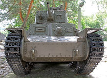 Tank from world war II Stock Photo