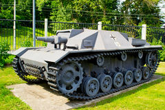 Tank from World War II. Old German tank of World War II Stock Images