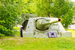 Tank from World War II Royalty Free Stock Photos
