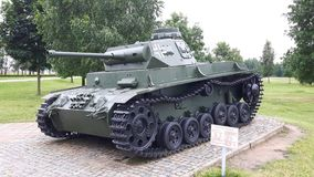 Tank since the World War II royalty free stock photo