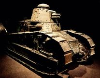 Tank. World War One tank royalty free stock photos