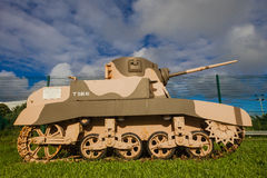 Tank World War Stuart M4A1 Stock Photos