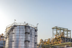 Tank yard, Petrochemical industry Stock Photography