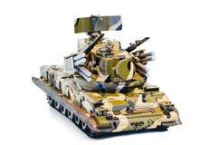 Tanka detflygplan vapnet, modernt vapen på en vit bakgrund Royaltyfria Bilder