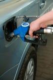 tanka för bensin Royaltyfria Bilder