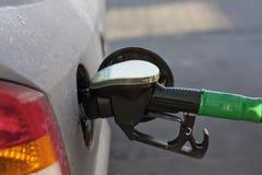 tanka för bensin Arkivfoton