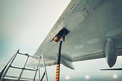 Tanka flygplanet Royaltyfria Foton