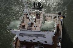 Tanka operation på havet Arkivfoton