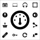 Tankanzeigeikone Netzikonen-Universalsatz für Netz und Mobile stock abbildung