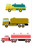 Tankbil. stock illustrationer