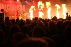 Tankcsapda concert Royalty Free Stock Photography