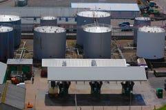 Tankendes Depot Lizenzfreie Stockfotografie