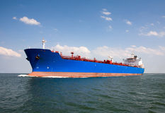 Tanker. At open sea-north sea Royalty Free Stock Photos