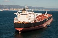 Tanker At Anchor Royalty Free Stock Photos