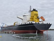 Tanker angekoppelt Lizenzfreies Stockfoto