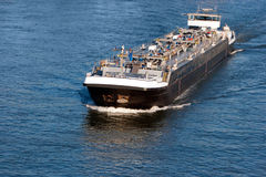 Tanker barge shipping Stock Photography