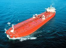 Tanker on Black Sea Royalty Free Stock Images