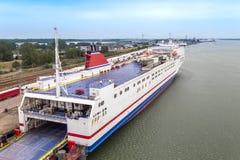Tanker Boat stock image