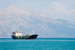 Tanker boat at the sea Royalty Free Stock Photo