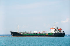 Tanker boat at the sea Stock Photography